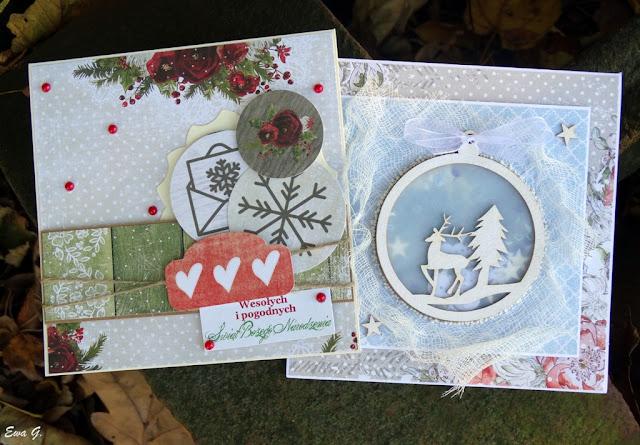 Październikowe kartki bożonarodzeniowe
