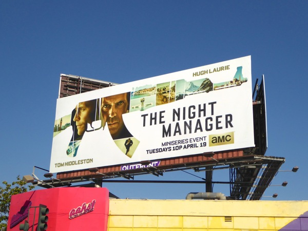 Night Manager miniseries billboard