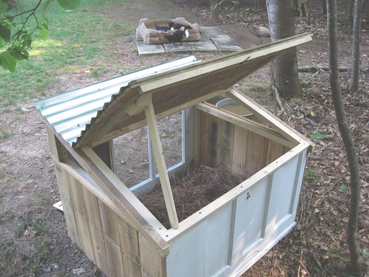 The Project Lady Duck House Project Build
