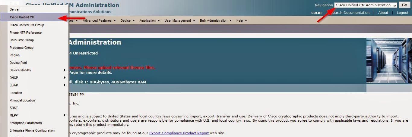Isuru Rakshitha Senadheera: Enabling IP Phone Auto Registration in CUCM