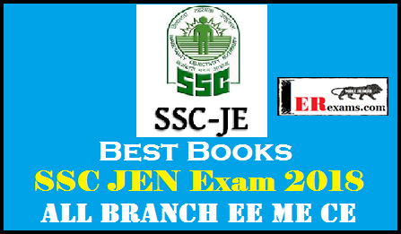 Books For SSC JEN Exam 2018 All Branch EE ME CE