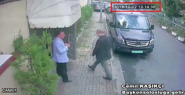 "That moment Khashoggi entered the consulate in Istanbul ""Turkish press"""