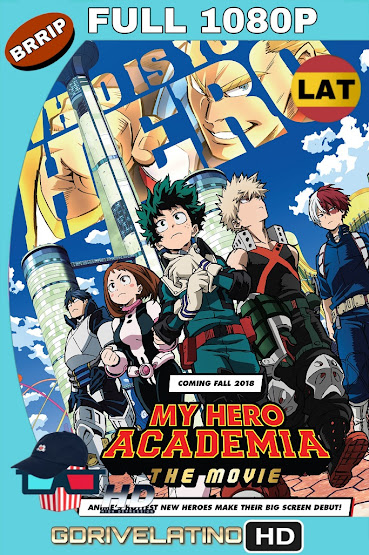 My Hero Academia: Two Heroes (2018) BRRip 1080p Latino-Japones MKV