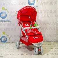 Kereta Bayi Creative Baby BS328 Runner-2 Red