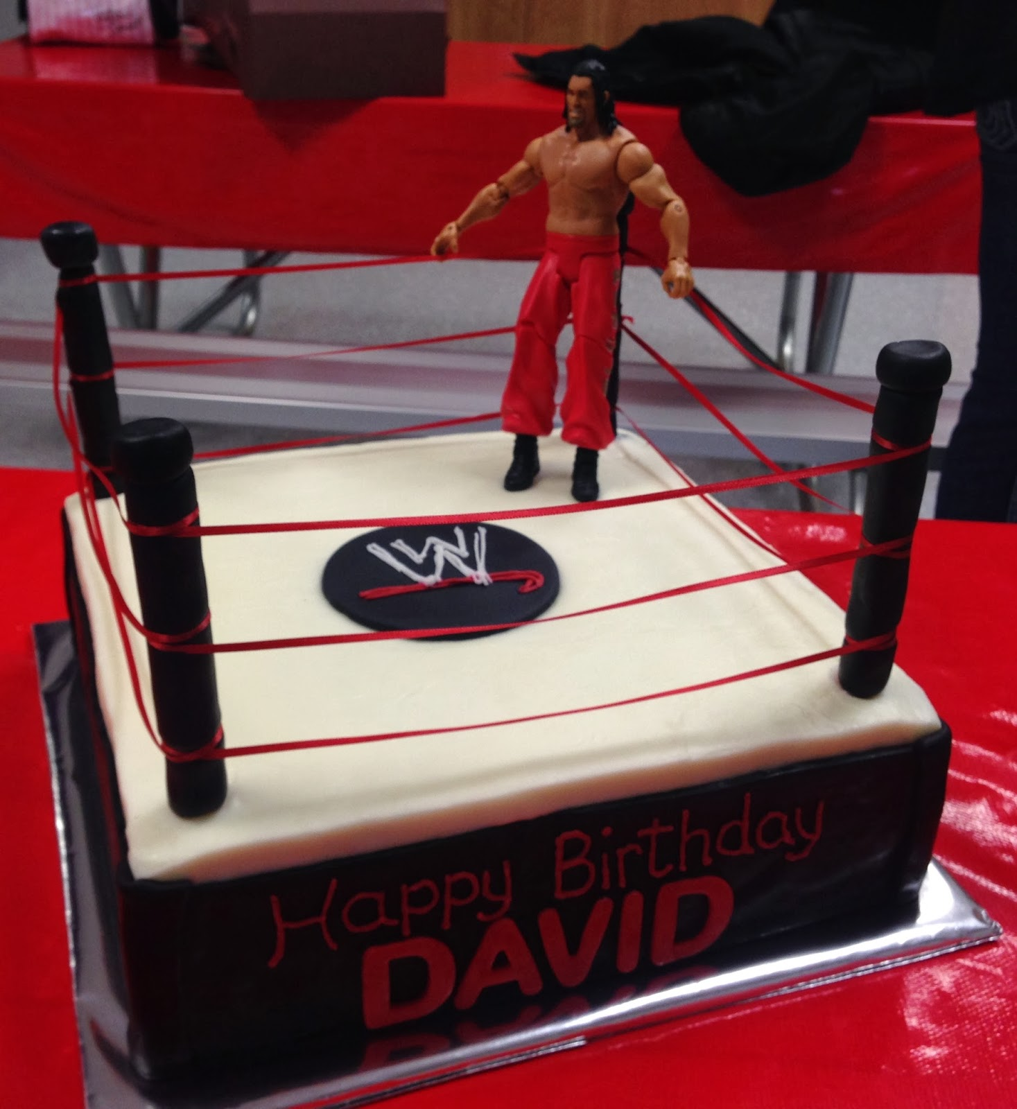 Cakes By Mindy Wwe Wresting Cake 12 Quot