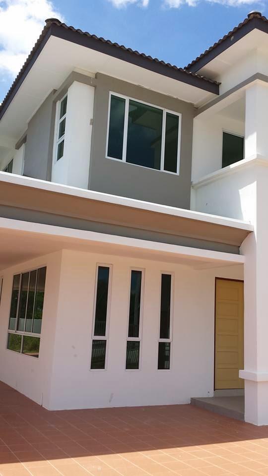 NEW SEMI-D 2 STOREY HOUSE FOR SALE (taman Tunku)