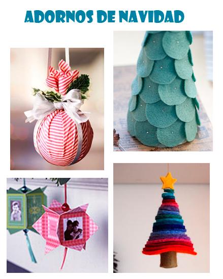 Adornos De Navidad Increibles Y Faciles Como Hacer - Decoracion-navidea-facil-de-hacer