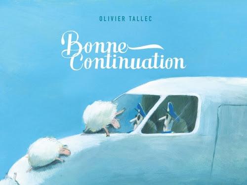 Bonne continuation d'Olivier Tallec
