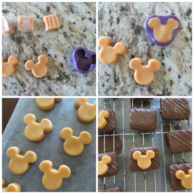 caramel mickey mouse marshmallows