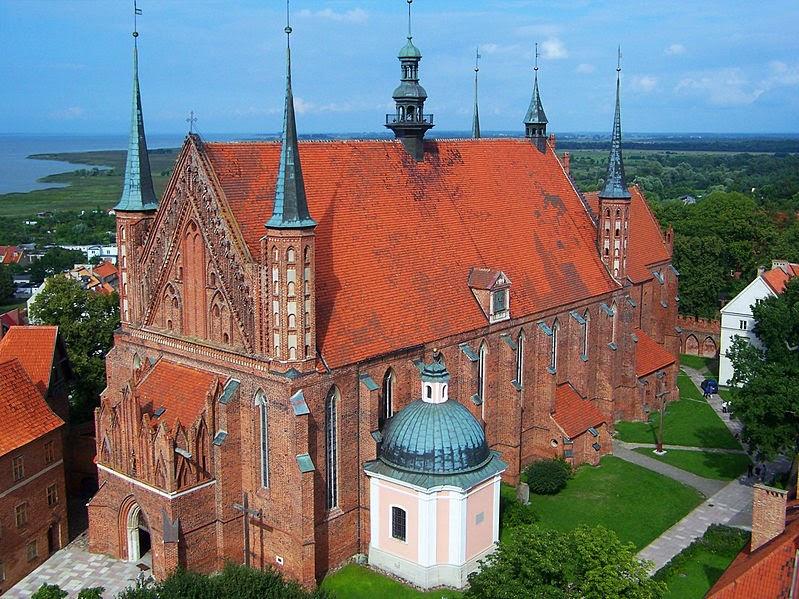 Fromborko katedra kaip atrodė gotikinė Vilniaus katedra