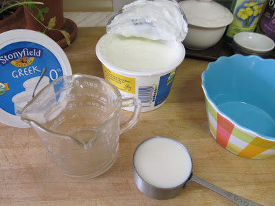 Making Non-Buttermilk Ranch Dressing