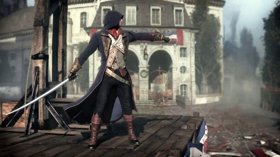 Assassin S Creed Unity Roofgames