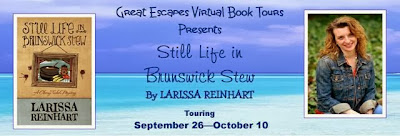 "BLOG TOUR: INTERVIEW, REVIEW & GIVEAWAY: Larissa Reinhart, ""Still Life in Brunswick Stew"""