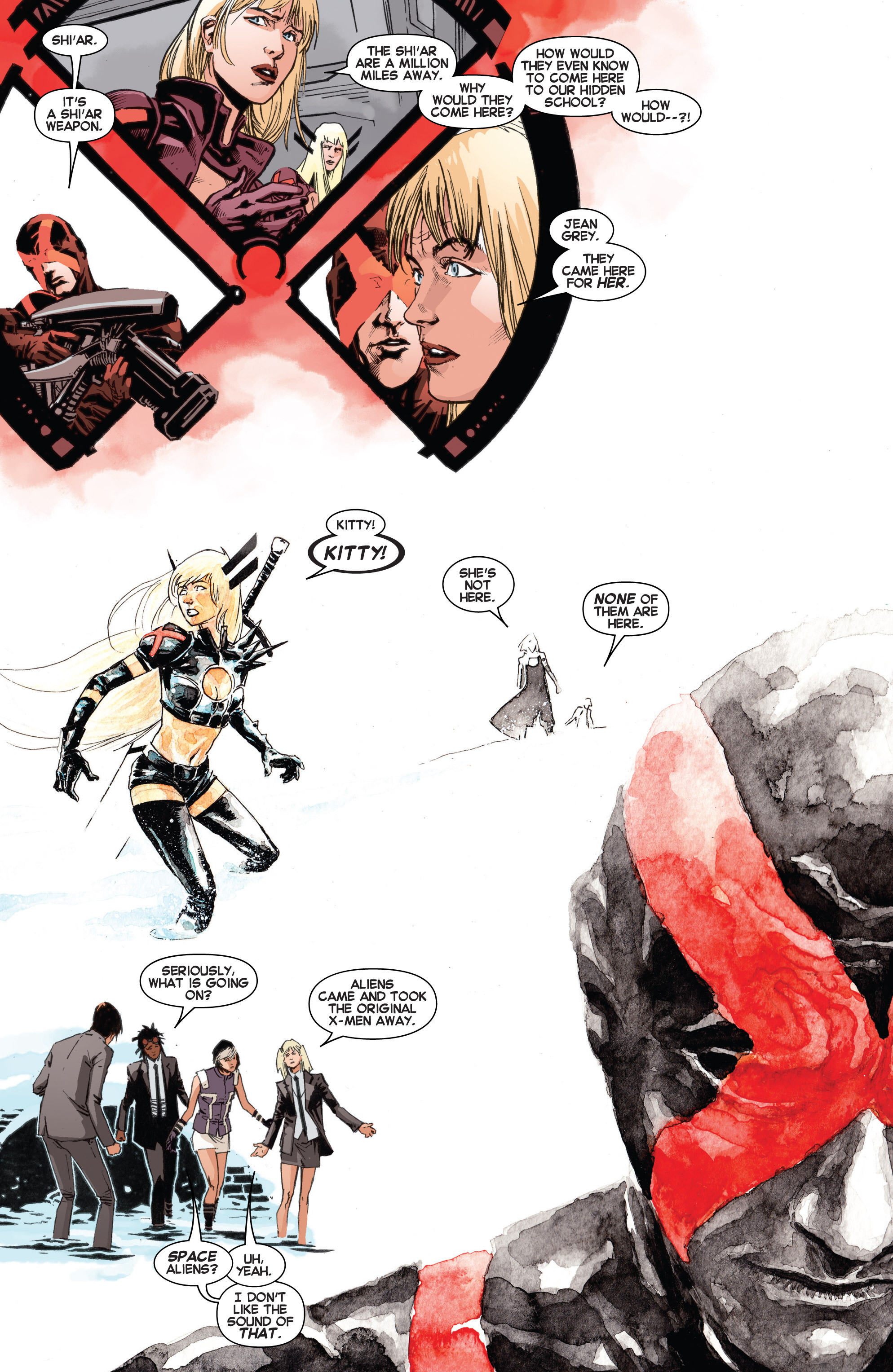 Read online Uncanny X-Men (2013) comic -  Issue # _TPB 3 - The Good, The Bad, The Inhuman - 89
