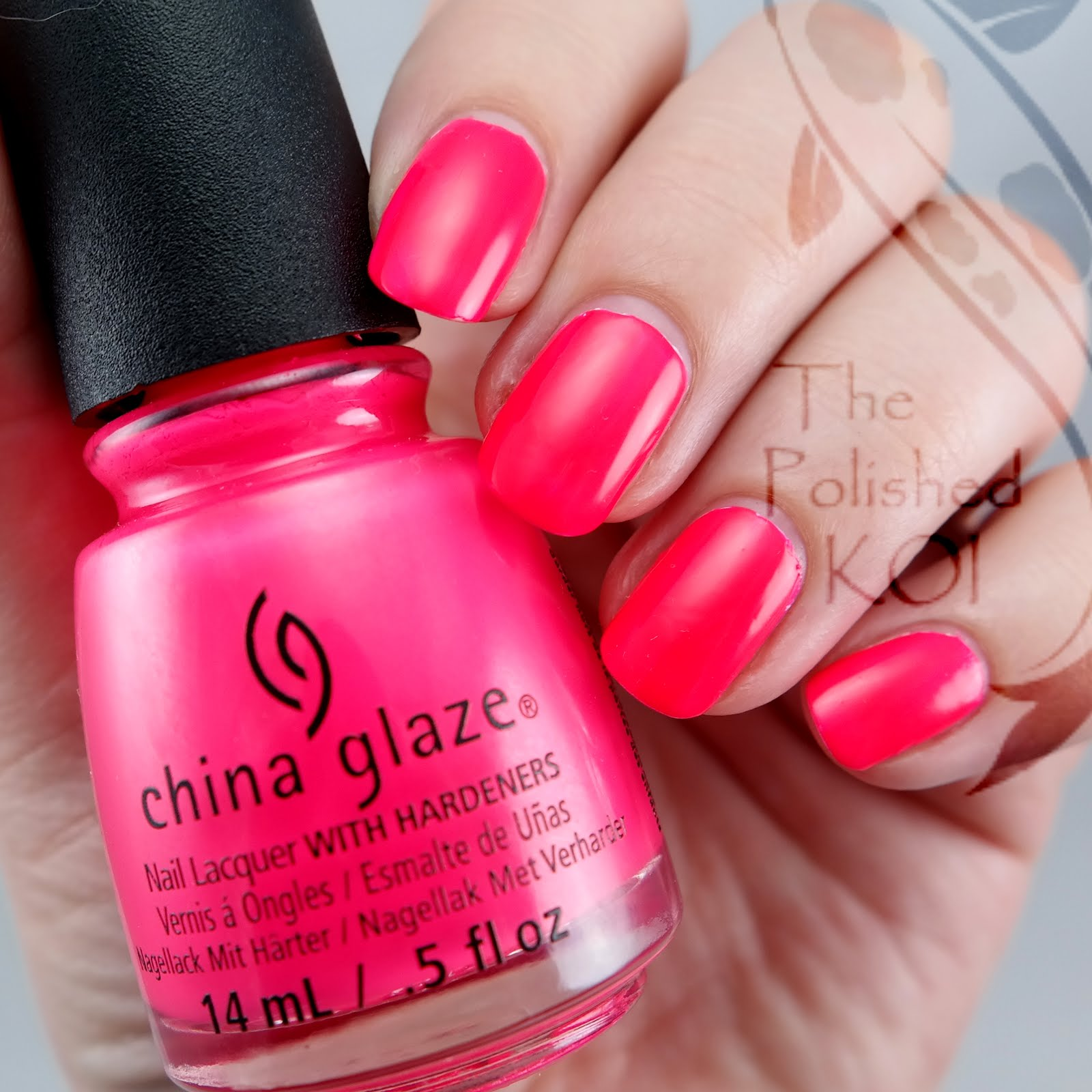 The Polished KOI: Stamping Saturday: Neon Watermelons