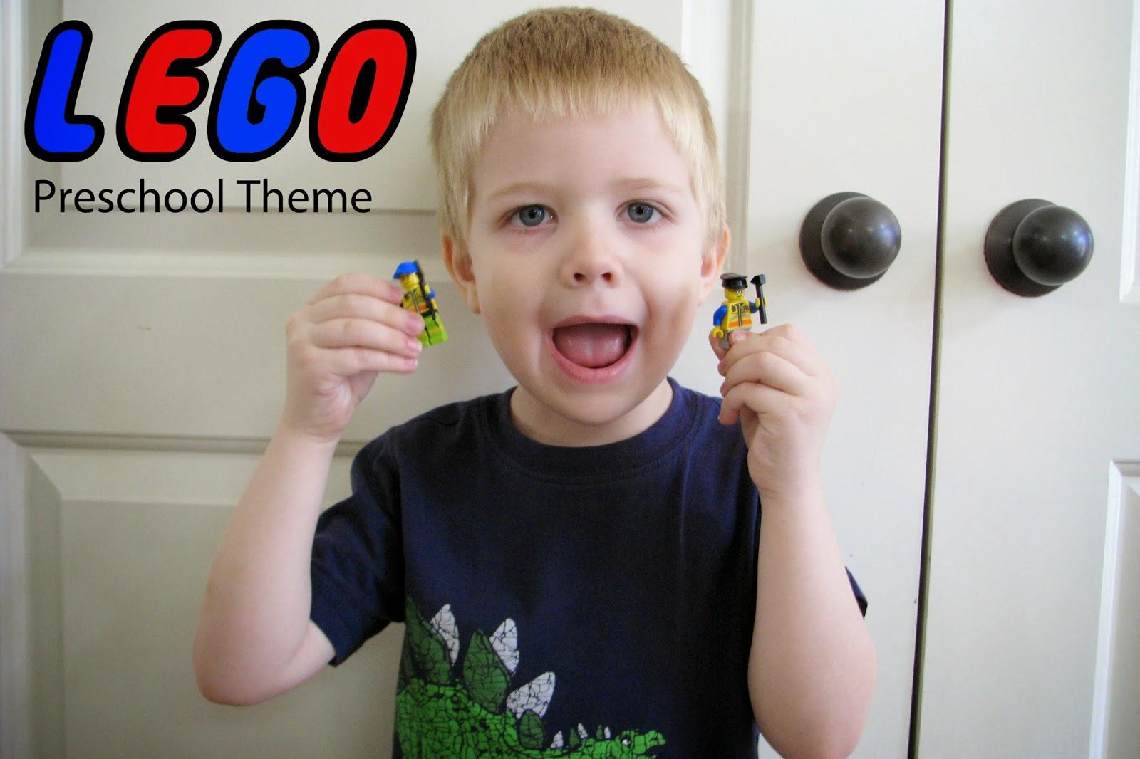Mommy's Little Helper: Lego Preschool Theme