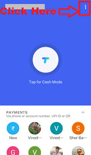 how to delete bank account in google tez app