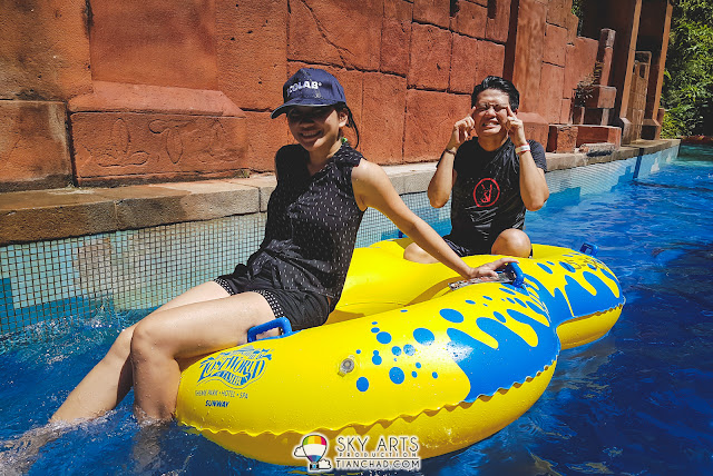 Rent a float at RM26 including RM10 as deposit @ Lost World of Tambun