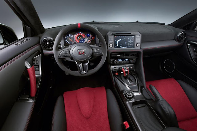 2016 Introduce New  Nissan GT-R Nismo Release edition interior wheel drive