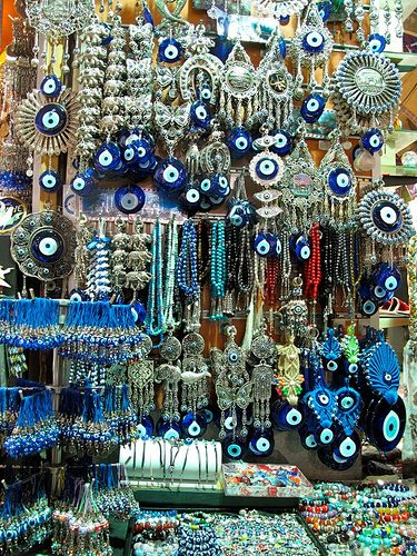 The Greek evil eye charms & amulets