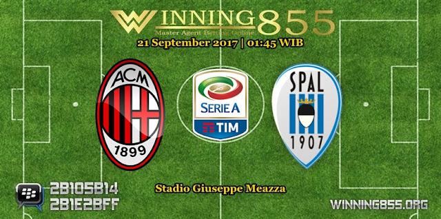 Prediksi Skor Milan vs SPAL