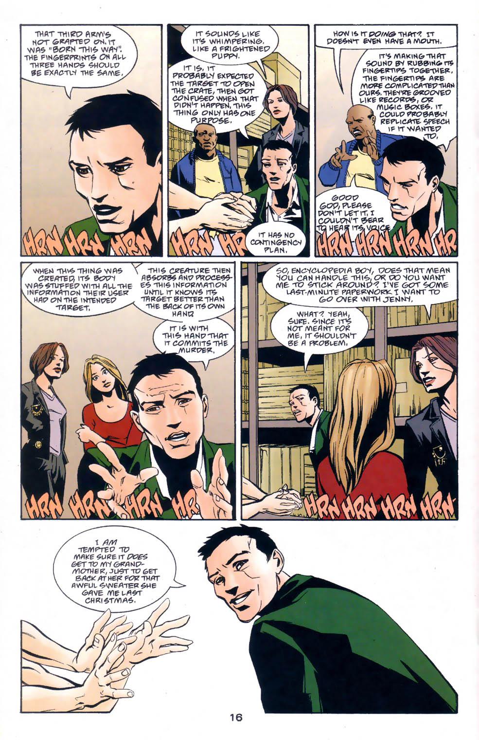 Read online Midnight, Mass comic -  Issue #1 - 17