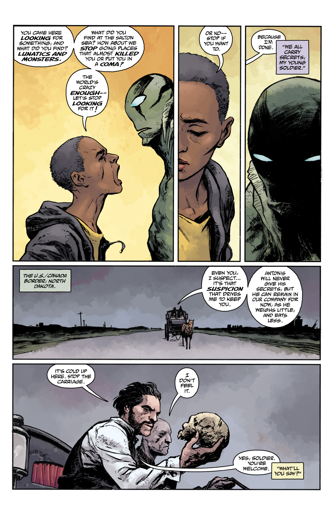 Read online Abe Sapien comic -  Issue #17 - 22