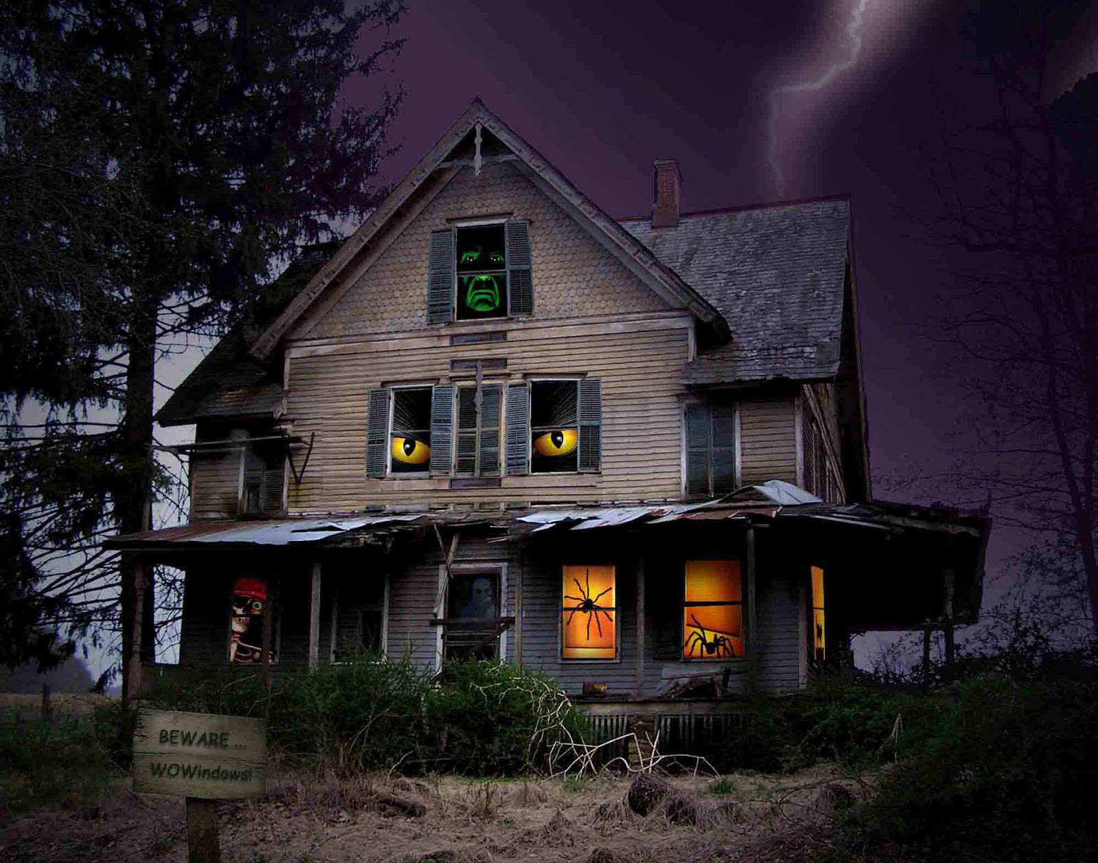 Haunted House HD Wallpapers