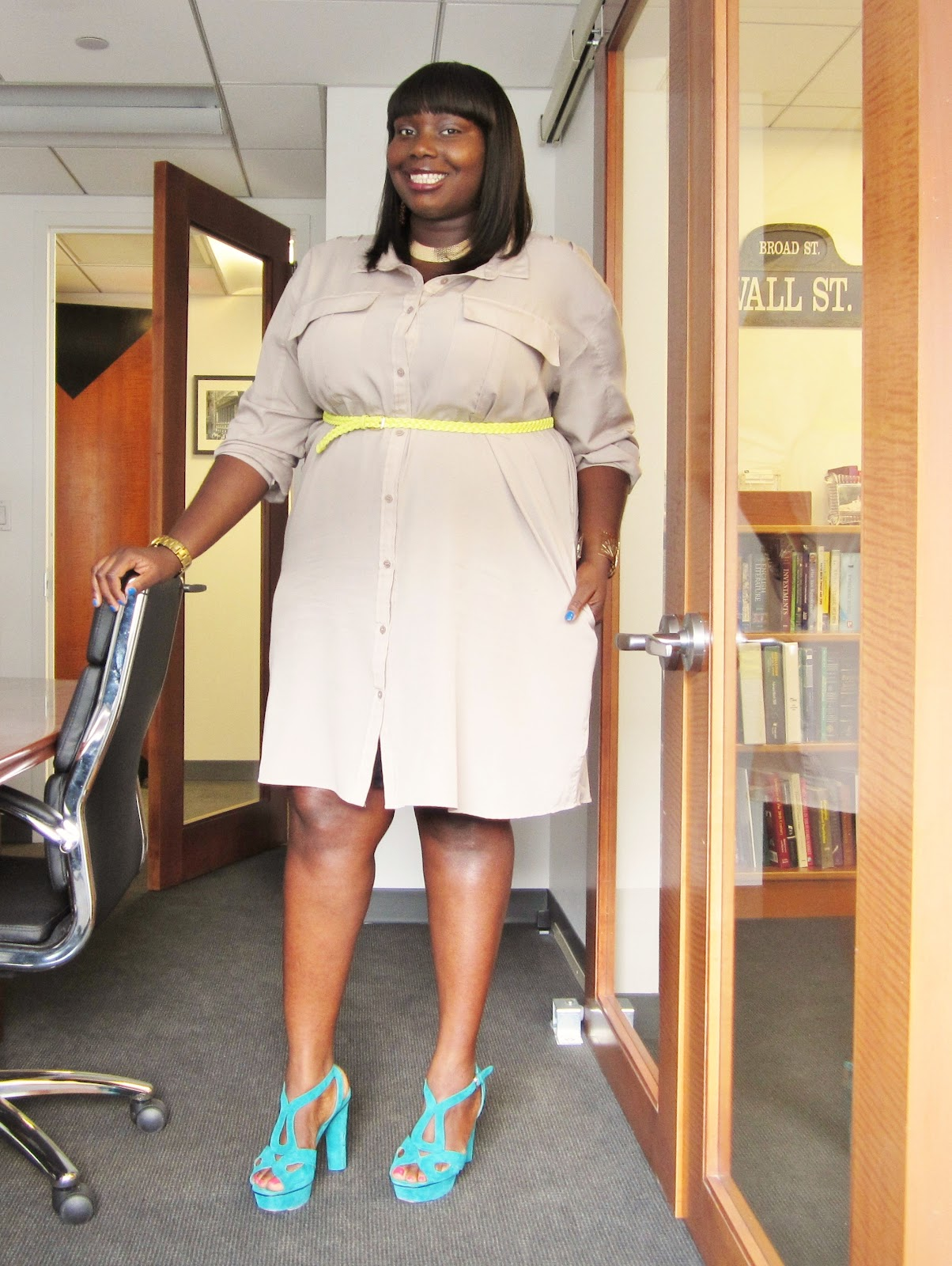 bb946ff696e PLUS SIZE WORK WEAR  STYLISH CURVES WEEK AT THE OFFICE