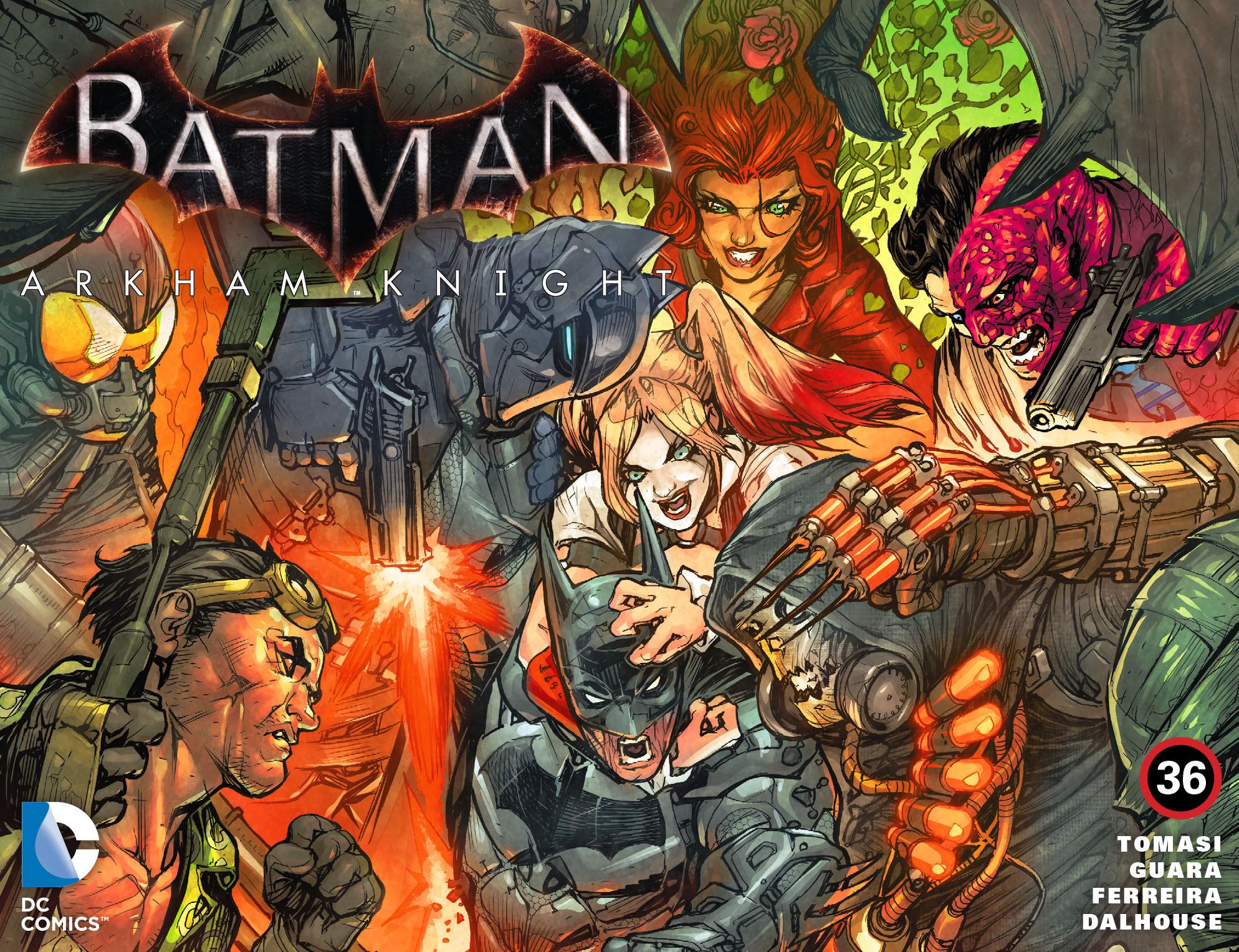 Batman: Arkham Knight [I] 36 Page 1