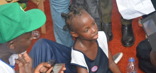 Lagos Marathon: 7-year-old Damilola shines
