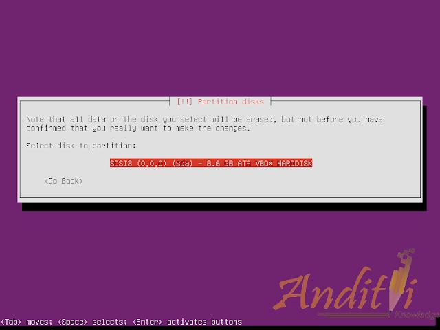 Installasi Ubuntu Server 16.04.1 LTS-anditii.web.id