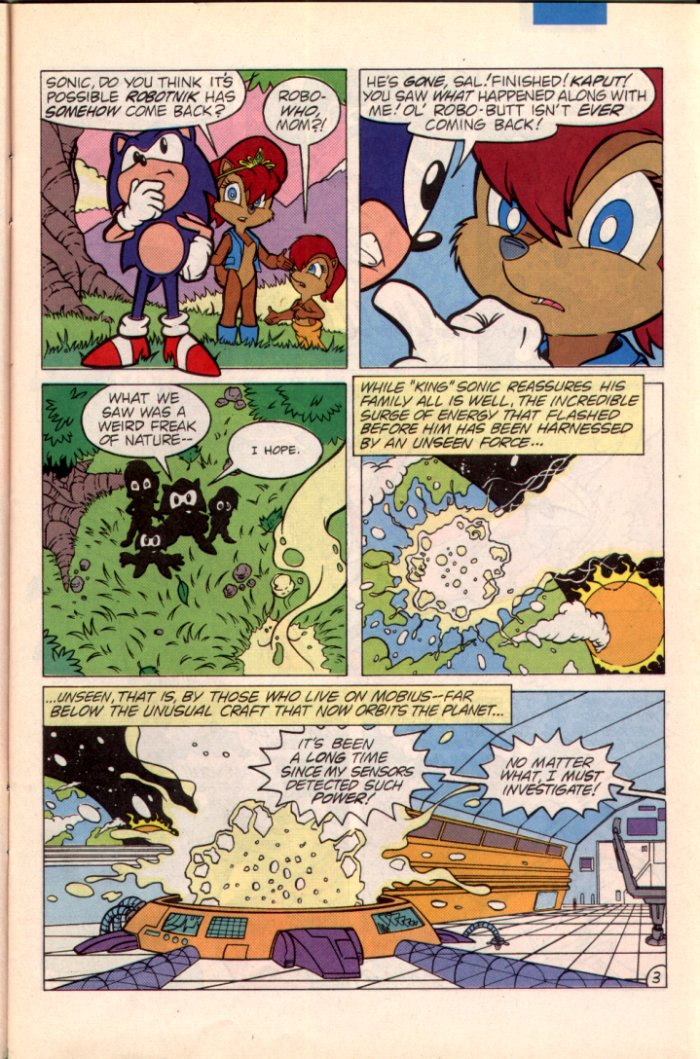 Read online Sonic The Hedgehog comic -  Issue #22 - 4