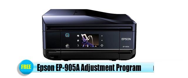 Epson EP-905A Adjustment Program