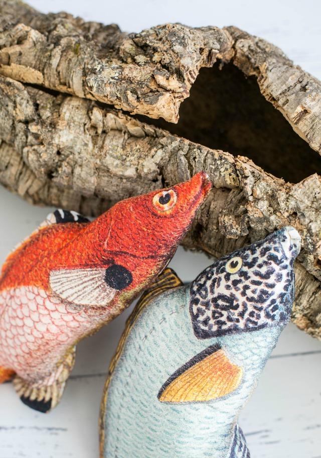 Faschingskostüm Accessoires Fische