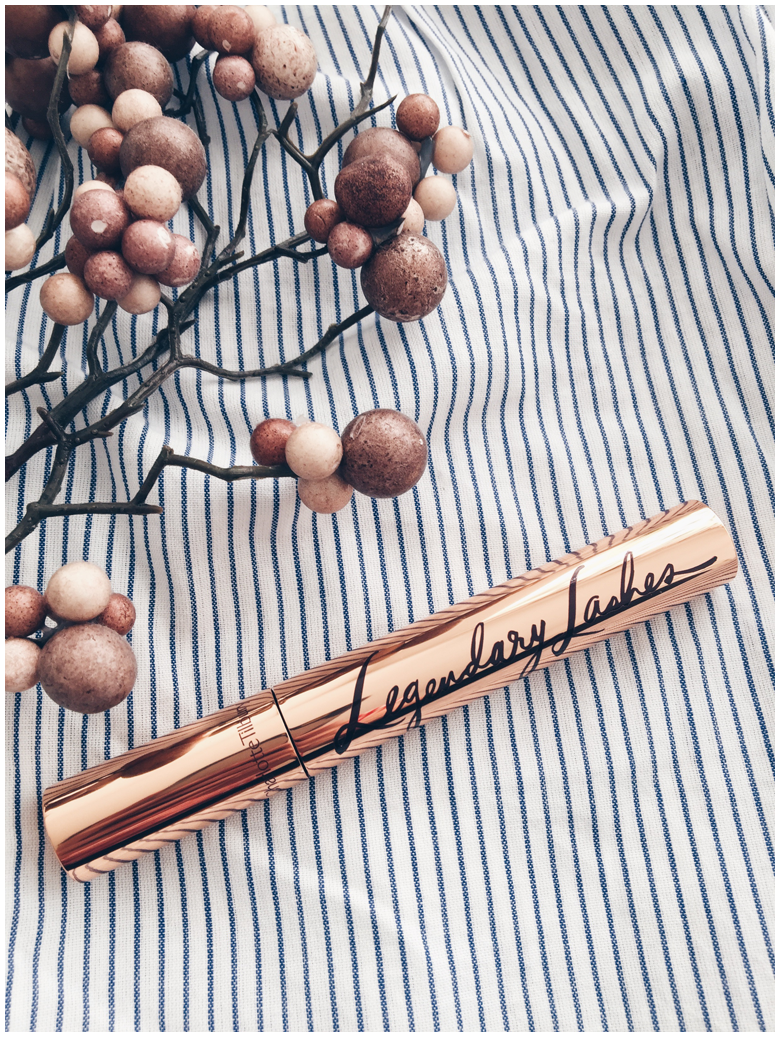 charlotte tilbury beauty products, legendary lashes mascara, review