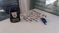 Um maior acompanhado de um menor foram detidos com drogas no Jardim Tamoio pela Guarda de Jundiaí