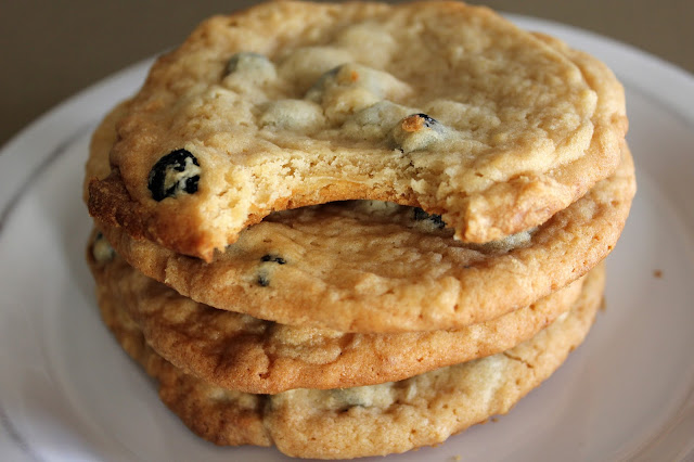 Blueberry and Cream Cookies by freshfromthe.com