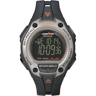 Timex Timex Ironman Triathlon 30 Lap Digital Grey Resin Mens T5K758