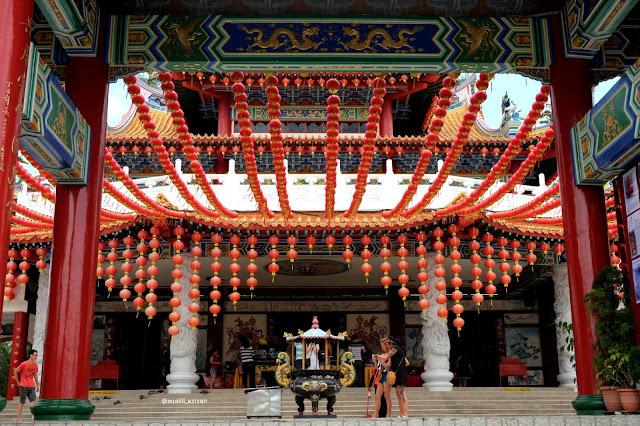 Thean Hou Temple Curitan Aqalili