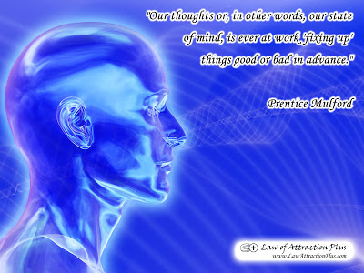 Free Law of Attraction Wallpaper with Quote by Prentice Mulford