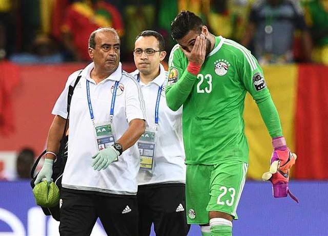 حارس المنتخب المصري في كأس العالم بعد إصابة الشناوي