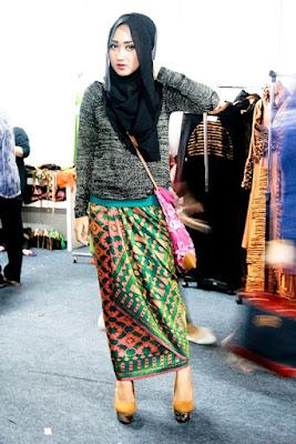 Model Baju Muslim Batik 2