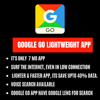Google Go | Google Go lite app features - TECHXINX - Learn