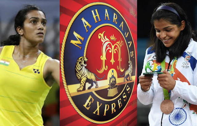 IRCTC Glorifies Rio Winners by offering a free ride in Maharajas' Express