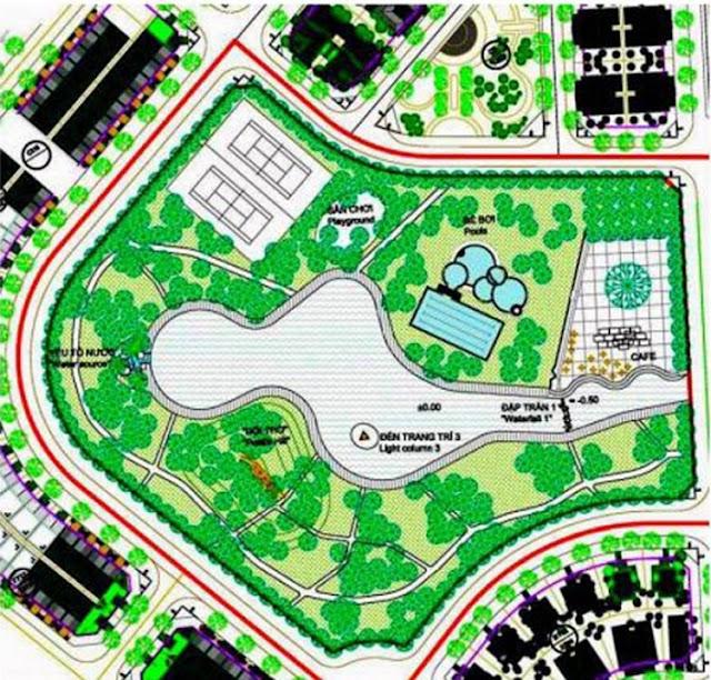 Công viên thể thao khu đô thị sinh thái Xuân Phương