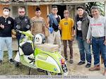Tim Vespa Brotherhood Of Scooters Sulut Touring PP Manado-Gorontalo