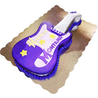 Enticing Guitar Cake