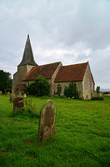 Saint Mary's Church, Hinxhill, Kent (photo by Barry Marsh)