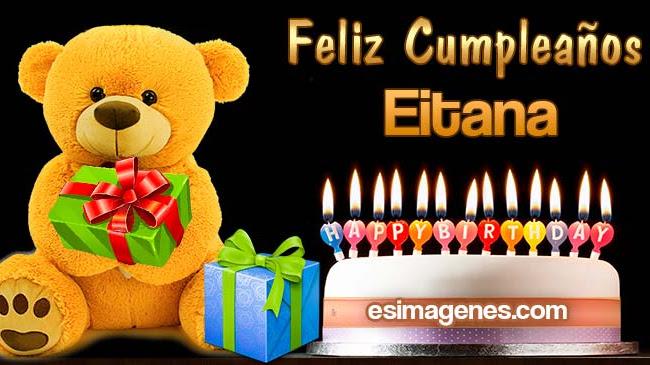 Feliz Cumpleaños Eitana